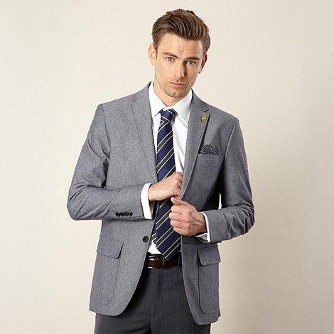 Hammond & Co. by Patrick Grant - Designer light blue +Hind+ chambray blazer
