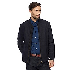 Hammond & Co. by Patrick Grant - Big and tall navy bomber jacket with wool