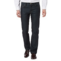 Hammond & Co. by Patrick Grant - Designer dark blue tailored rinse jeans