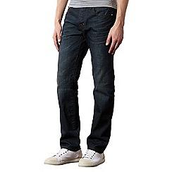 Hammond & Co. by Patrick Grant - Designer dark blue tailored dark wash jeans