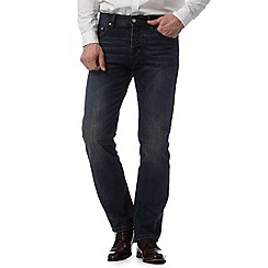 Hammond & Co. by Patrick Grant - Designer dark blue tailored fit jeans