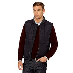 Hammond & Co. by Patrick Grant - Designer navy 'Vesta' quilted gilet