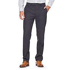 Hammond & Co. by Patrick Grant - Designer navy 'Quaker' twill trouser