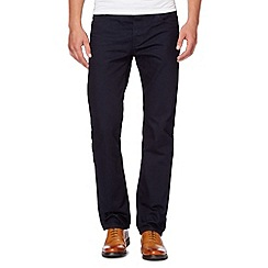 Hammond & Co. by Patrick Grant - Designer navy rinse wash tailored fit jeans