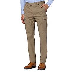 Hammond & Co. by Patrick Grant - Designer natural 'Napier' smart cargo trousers