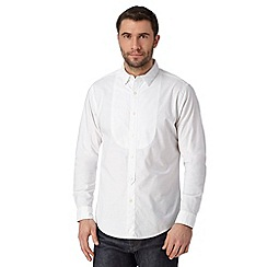 Hammond & Co. by Patrick Grant - Designer white bib front grandad shirt
