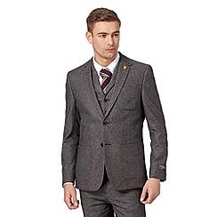 Hammond & Co. by Patrick Grant - Designer grey 'Quaker' twill blazer