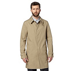 Hammond & Co. by Patrick Grant - Designer 'Whitehall' stone shower resistant mac coat