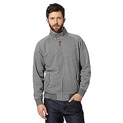 Hammond & Co. by Patrick Grant - Designer grey 'Kestrel' textured harrington jacket