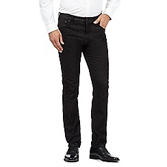Hammond & Co. by Patrick Grant - Designer black weft tailored jeans