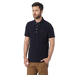 Hammond & Co. by Patrick Grant - Navy cotton polo shirt