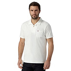 Hammond & Co. by Patrick Grant - White revere collar polo shirt