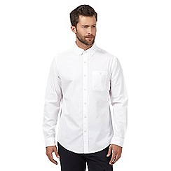 Hammond & Co. by Patrick Grant - Big and tall white long sleeved shirt