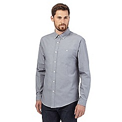 Hammond & Co. by Patrick Grant - Big and tall grey button-down shirt