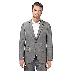 Hammond & Co. by Patrick Grant - Big and tall grey wool blend tweed blazer