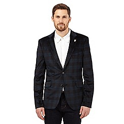 Hammond & Co. by Patrick Grant - Big and tall navy tartan jacket