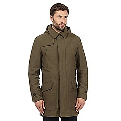 Hammond & Co. by Patrick Grant - Big and tall khaki shower resistant mac coat