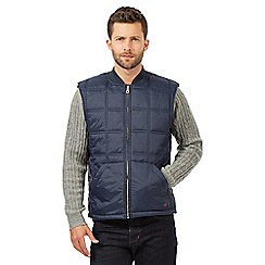Hammond & Co. by Patrick Grant - Big and tall navy quilted gilet
