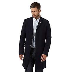 Hammond & Co. by Patrick Grant - Big and tall navy moleskin mid blazer