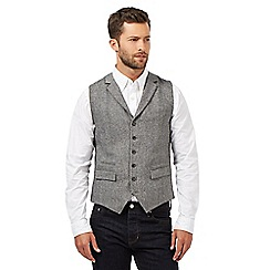 Hammond & Co. by Patrick Grant - Grey wool blend waistcoat