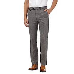 Hammond & Co. by Patrick Grant - Big and tall designer grey tailored trousers