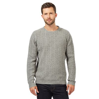 Hammond & Co. by Patrick Grant Big and tall light grey wool