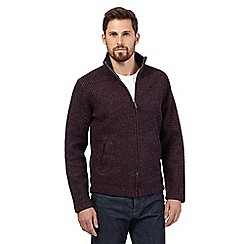 Hammond & Co. by Patrick Grant - Big and tall dark red funnel neck