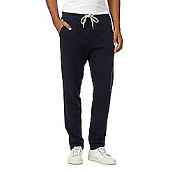 Hammond & Co. by Patrick Grant - Big and tall designer navy joggers