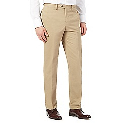 Hammond & Co. by Patrick Grant - Big and tall light tan smart chino trousers