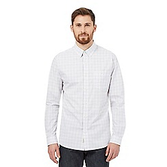 Hammond & Co. by Patrick Grant - White bar checked print shirt