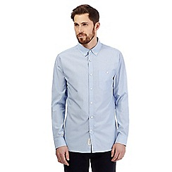 Hammond & Co. by Patrick Grant - Big and tall light blue striped shirt