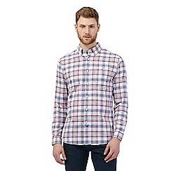 Hammond & Co. by Patrick Grant - White check print shirt