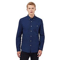Hammond & Co. by Patrick Grant - Big and tall navy pocket shirt