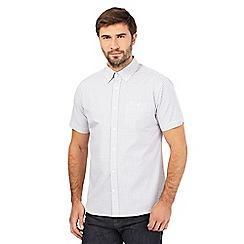 Hammond & Co. by Patrick Grant - Big and tall grey gingham print shirt