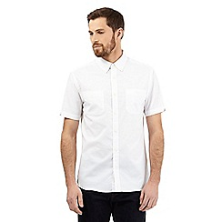Hammond & Co. by Patrick Grant - Big and tall white short sleeved shirt