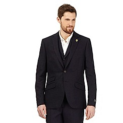 Hammond & Co. by Patrick Grant - Big and tall navy linen blend blazer