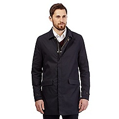 Hammond & Co. by Patrick Grant - Navy 'Kirklee' showerproof mac coat