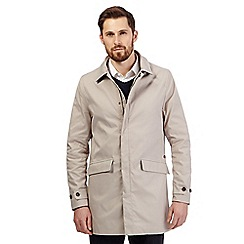 Hammond & Co. by Patrick Grant - Big and tall beige mac coat
