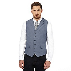 Hammond & Co. by Patrick Grant - Big and tall blue chambray waistcoat