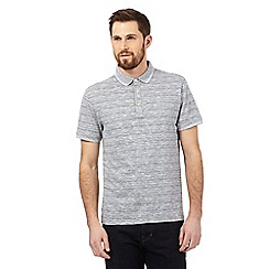 Hammond & Co. by Patrick Grant - Big and tall grey marl polo shirt