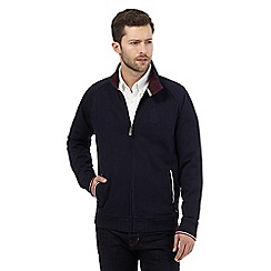 Hammond & Co. by Patrick Grant - Big and tall navy harrington sweater
