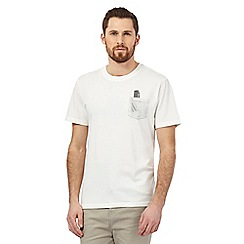 Hammond & Co. by Patrick Grant - Off white pocket comb print t-shirt