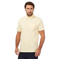 Hammond & Co. by Patrick Grant - Big and tall light yellow polo shirt