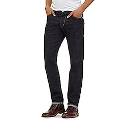 Hammond & Co. by Patrick Grant - Dark blue slim fit selvedge denim jeans