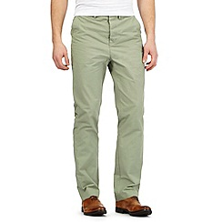 Hammond & Co. by Patrick Grant - Big and tall light green 'Clyde' chinos