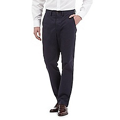 Hammond & Co. by Patrick Grant - Big and tall navy 'clyde' chinos