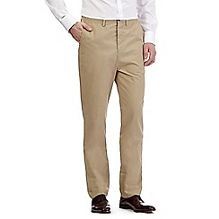 Hammond & Co. by Patrick Grant - Big and tall beige 'Clyde' chinos