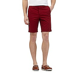 Hammond & Co. by Patrick Grant - Big and tall red chino shorts