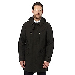 Hammond & Co. by Patrick Grant - Big and tall dark green hooded mac