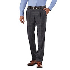 Hammond & Co. by Patrick Grant - Grey checked trousers